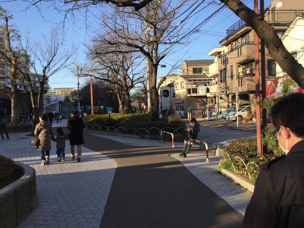 도쿄-아라카와-유원지-가는길4