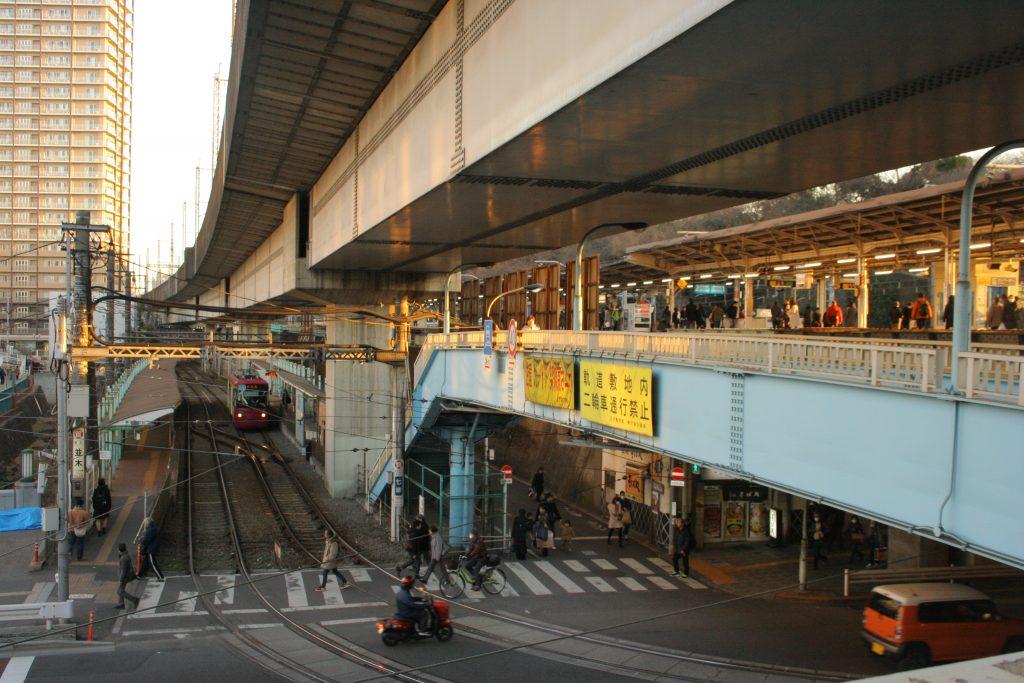 도쿄-노면전차-오지역
