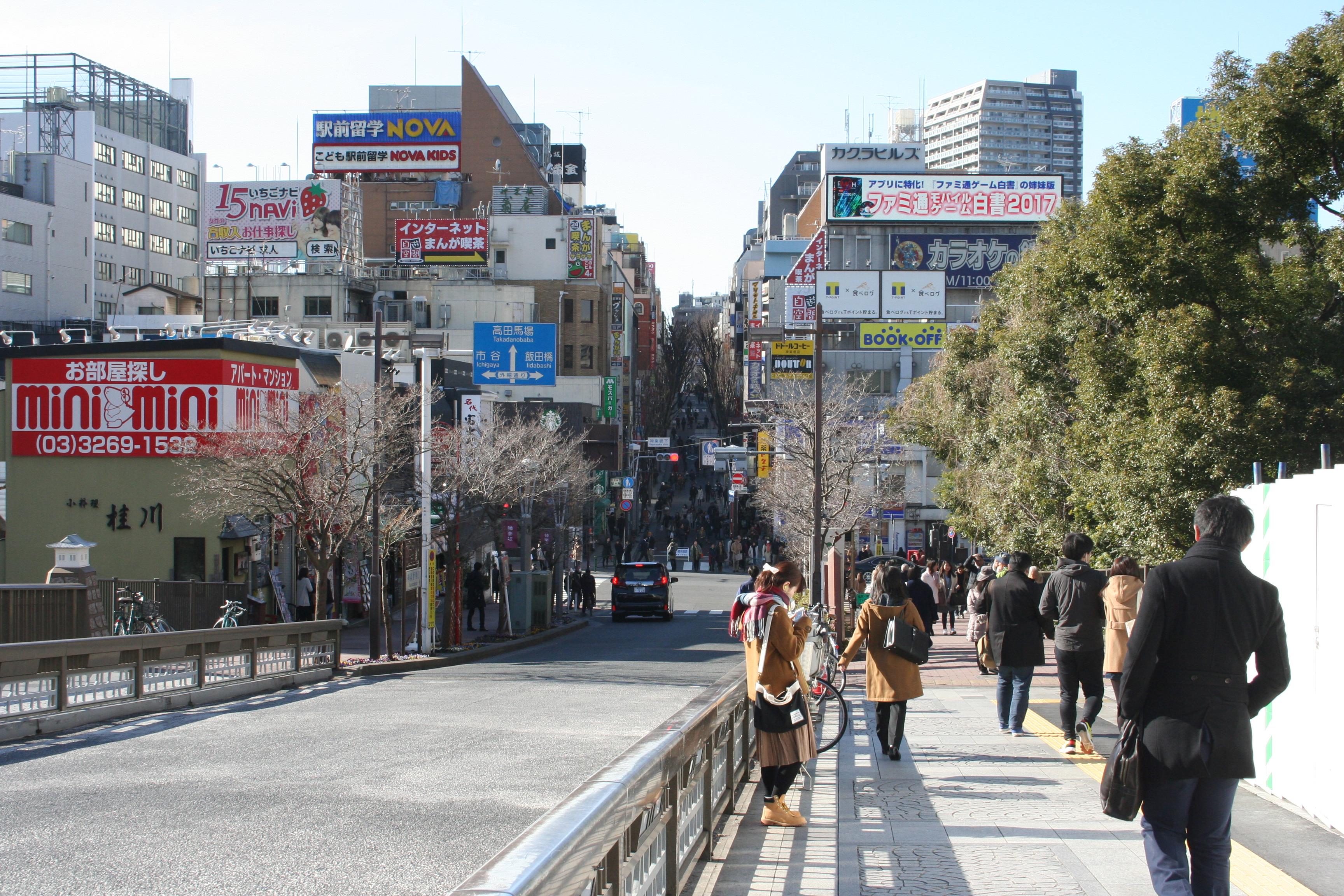 도쿄-카구라자카1